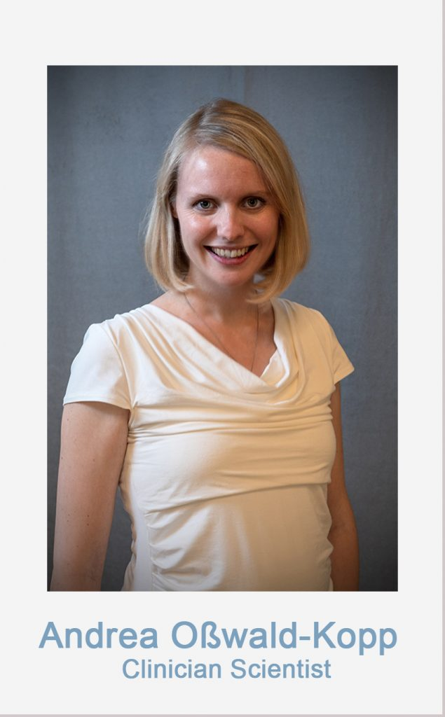 Link to Andrea Osswald-Kopps Profileb - Clinician Scientist of the CRCTRR205