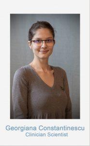 Georgiana Constantinescu Clinician Scientist of the CRCTRR205