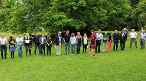 Here is supposed to be a picture of members of the CRCTRR 205 in Tutzing 2018