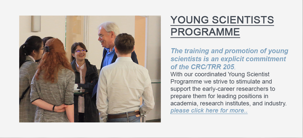 Here is supposed to be the Linkbutton to Young Scientists-PROGRAMsite of the CRC/TRR 205.