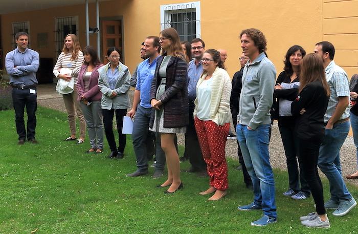 Hier sollte ein Bild von Teilnehmern* des Retreats des SFB/TRR 205 in Tutzingen 2018 zu sehen sein.