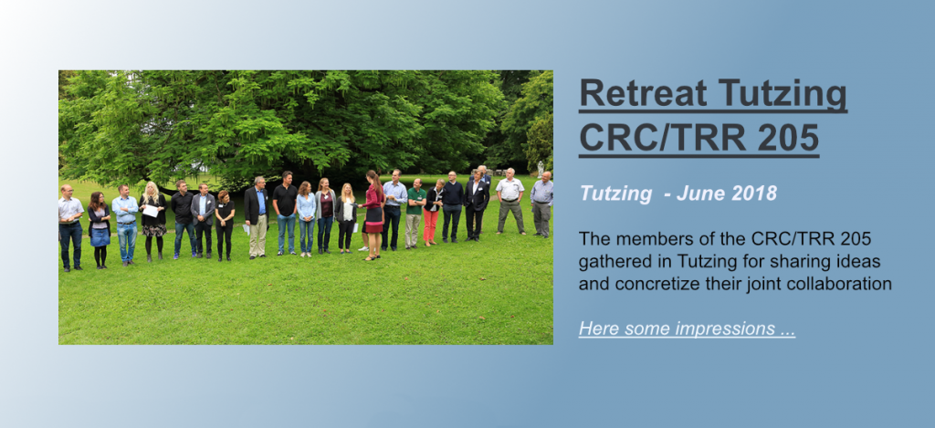Here is supposed to be the link to the review of the Retreat 2018 of the CRC/TRR 205 in Tutzing